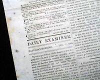 CONFEDERATE Battle of Coosawhatchie SC GENERAL SHERMAN Civil War 1864 Newspaper