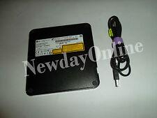 LG Super Multi Portable Slim DVD±RW 8X M-Disc USB 2.0 GP50NB40 Win 7/8 PC / Mac