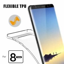 Ultra Slim Transparent Soft Gel Silicone Case Cover For Samsung Galaxy Note 8 AU