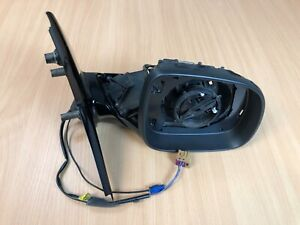 Genuine VW Transporter T6 Gloss Black Wing Mirror 7E2857388 (EN) - Drivers Side