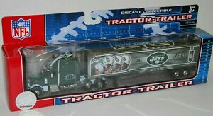 NFL Football Semi Truck Tractor Trailer Hauler Collectible New York Jets 2006