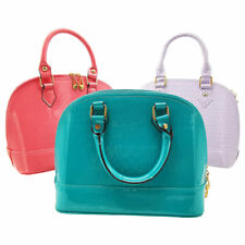 Women Patent Leather Handbag Casual Shell Shoulder Bag Tote Messenger Bag Small