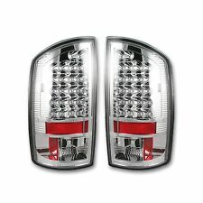 RECON 264171CL Dodge 02-06 RAM 1500 03-06 RAM 2500/3500 Clear-Red Tail Lights