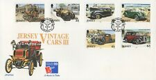 JERSEY VINTAGE CARS III 2nd JULY 1999 FIRST DAY COVER