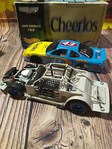 1999 Mattel Hot Wheels Racing Crews Choice John Andretti #43 Cheerios 1:24 Scale