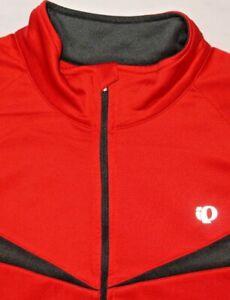 Mens EUC Red PEARL IZUMI Elite Thermal L/S Cycling Jacket size 2XL