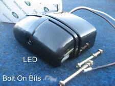 LED Numberplate lamp & Gen. Plinth LandRover Defender