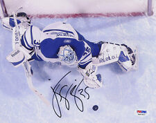 J.S. Giguere SIGNED 8x10 Photo Toronto Maple Leafs ITP PSA/DNA AUTOGRAPHED
