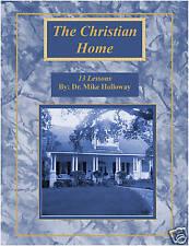 Baptist Sunday School Lessons The Christian Home - KJV