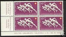 Switzerland  1950  Scott # B194  MNH Plate Block