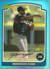 Robinson Cano Seattle 2013 Bowman Rookie Reprint Blue Sapphire Refractors