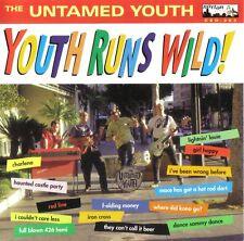 UNTAMED YOUTH 'Youth Runs Wild LP NEW ventures estrus 7 phantom surfers mummies
