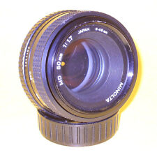 Minolta MD 50mm 1:1,7 lens in very good condition!