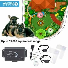 New listing Electric Dog Fence System for 2 Dogs Water Resistant