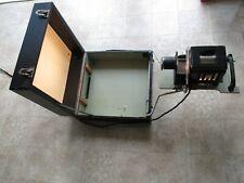 projecteur diapositives PLANOX slide projector - working!!  France≈1950s