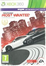 Need for Speed: Most Wanted Microsoft Xbox 360 7+ Racing Game