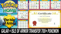 Pokemon Sword and Shield Completion Galar & Isle of Armor Pokedex SQUARE SHINY