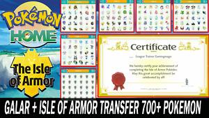 Pokemon Sword and Shield Completion Galar & Isle of Armor Pokedex Ultra Shiny BR