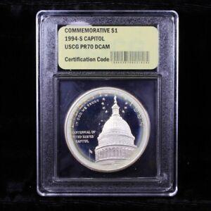1984 S Capitol One Dollar Proof PR70 DCAM commemorative