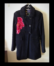 TRES joli manteau chaud femme DESIGUAL EXCELLENT ETAT T.40