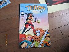 PETIT FORMAT BD COMICS TELLOS 1 couverture B   image semic 2000