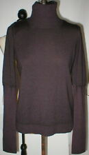 New NWT CP Company Designer Wool Sweater 40 Italy Womens 4 XS Dark Red Purple