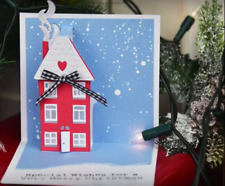 Sizzix Pop Up House Die 662574 - Sizzix Thinlits Pop Up House Moving Christmas