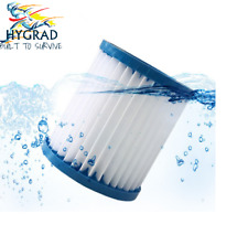 Hygrad Pack of 2 & 6 Washable Anti Microbial Hot Tub Spa Filter Cartridge Lay-Z