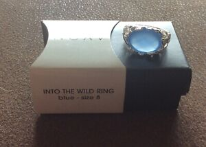 Avon Into The Wild Ring Blue Size 8 New *Gift Included W/Purchase
