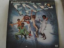 FAZE-O BREAKIN' THE FUNK VINYL LP 1979 SHE RECORDS YA-BA-DA-BA-DUZIE, LET'S ROCK