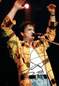 Les McKEOWN SIGNED Autograph 12x8 Photo 2 AFTAL COA Bay City Rollers Pop Group