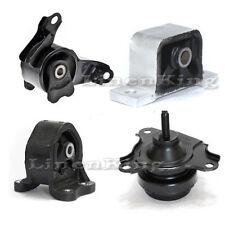 Fits 02-06 Honda CRV 2.4L Engine Motor Transmission Mount Kit For AT Trans G031