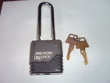 American Lock A22kacov Alike Keyed Padlock Extended Shackle Type 3 Shackle