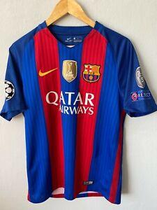 FC Barcelona Football Shirt 2016/2017 Champions League Soccer Jersey Neymar  #11