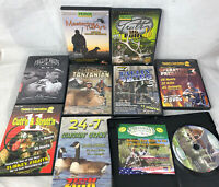 10 Hunting DVD LOT Primos Hunter's Specialities ELK Waterfowl LION Safari HIPPO