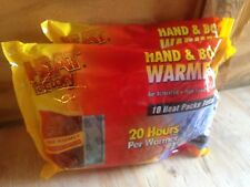 Heat Factory Large Warmer Pack: Hand & Body Warmers 1964-2 (2packs) Last 24hrs