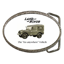 LAND ROVER 1950 CLASSIC REPRO CAR BELT BUCKLE - GREAT GIFT ITEM