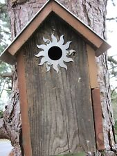"""Bird House Accessories  00004000 with 1 1/4"""" opening. made of 20 gauge Stainless Steel"""