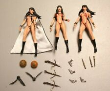 Vampirella Figures Sculpted By Clayburn Moore With Base And Accessories No Box