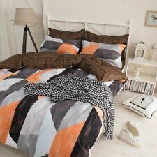 5 Pieces Bedding Comforter Sets Twin Set Bedroom Comforters Geometric Pattern