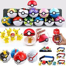 Pokemon Rollen Cosplay Figur Spielzeug Kinder clip-n-carry Poke Ball Gürtel