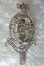 Staybrite Royal Horse Artillery Cap Badge QC maker JR GAUNT* - Anodised