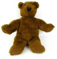 Vintage Plush Brown Teddy Bear 11 Inches Tall  B1