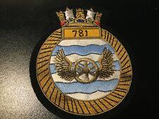No. 781 Naval Air Squadron Bullion Blazer Badge