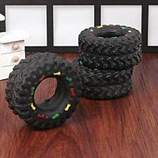 Animal Tire Pet Sounds Dog Toy Puppy Cat Chews Squeaky Squeaker Rubber Toys LS