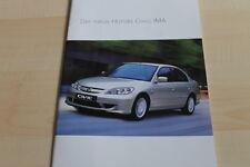 136861) Honda Civic IMA Prospekt 12/2003