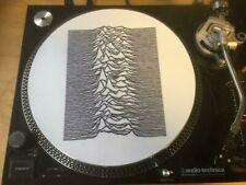 "12""  VINYL TURNTABLE  SLIPMAT  UNKNOWN PLEASURES  JOY DIVISION     LP"
