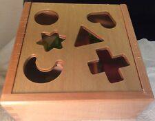 Erzi Steck- Activity Cube Made In German Wooden Toy New Sealed Box Safe Kids Toy