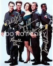 Ghostbusters Cast Signed Autographed Reprint Dan Aykroyd Sigourney Weaver