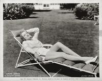 Vintage 1937 MARLENE DIETRICH Paramount Pictures Pinup Publicity Photo Celebrity